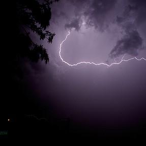 Thunderstorm season has arrived.