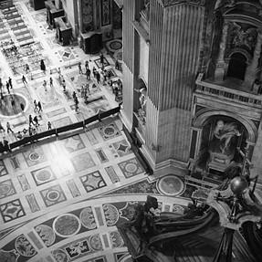B & W Travel Photos from Rome, Tivoli