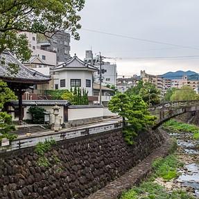 Nakajima river in Nagasaki, few photos to dilute tech. talk :)