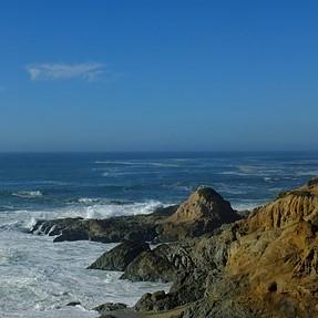 Bodega Bay, N. California hike with the Fuji X-S1