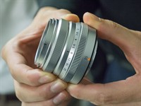 CP+ 2015: Fujifilm shows prototype roadmap lenses