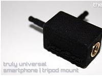 JackPod will put a tripod mount on any smartphone
