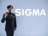 """CP+ 2015 Sigma Interview - """"small office, big factory"""""""