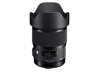 Wide angle: Sigma's new Art lens is fastest 20mm in the world
