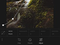 Lightroom for mobile for iOS 2.1 brings iPad Pro support and Point Curve