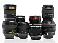 LensRentals applies copy variation test to short telephoto primes