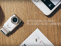 Eye-Plug camera dongle enables Android phones to record 3D video