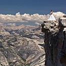 On top of the world: Photographer faces fears to capture rare wedding photos