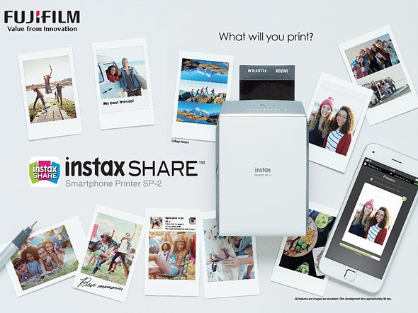 Fujifilm launches Instax SP-2 with faster printing speeds 1