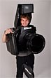 Photographer turns himself into living, fully-functional DSLR