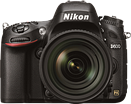Nikon D600 Preview updated with resolution and menu pages