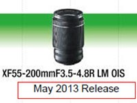 Fujifilm gives more details on lens roadmap and XF 55-200mm telezoom