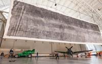 Massive 3,000 square foot pinhole photo on display