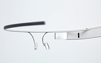 Google demonstrates view behind the Glass wearable camera