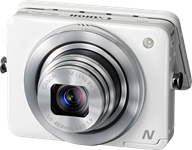 Canon PowerShot N takes a different angle - as smartphone side-kick