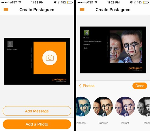 You've got mail: Five photo postcard apps tested 4
