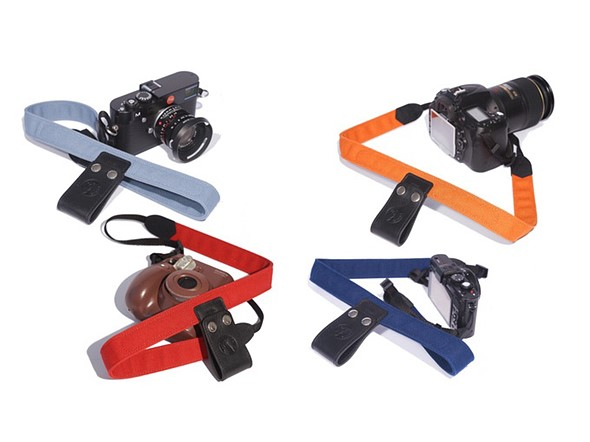 Camera Lift-Strap eases camera weight by clipping to a backpack handle 1