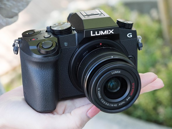 Hands-on with Panasonic Lumix DMC-G7