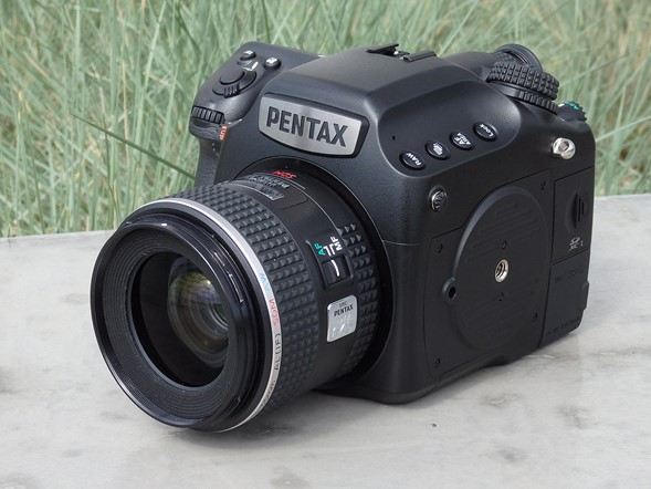 Hands on with the Pentax 645Z