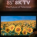 Sharp shoots ahead in the screen resolution race with 8K TV prototype