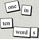 oneintenwords