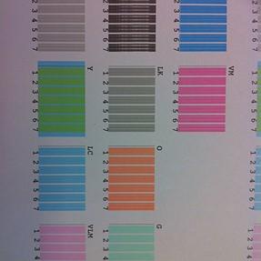Epson 4900 Print Head Alignment Errors on MK/PK