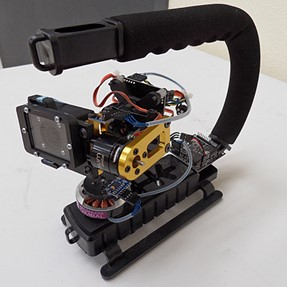 Gopro 3axis giro-stabilizer project
