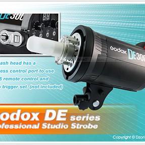 Experience with Godox DE200/DE300 monolights?