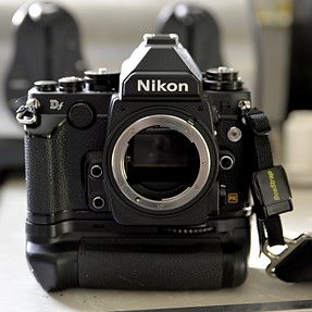 Nikon Df with *NEW* vertical grip