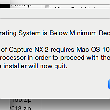 Yosemite and Nikon Capture NX2 Failure