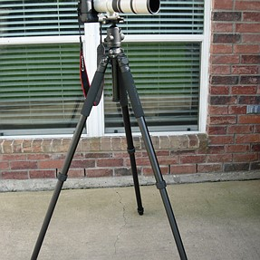 Purchased a new tripod and ballhead today