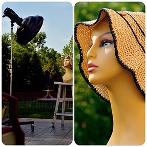 Using my sb-910 with FlexTT5 vs Using my Profoto B1 with aa Vari ND filter.