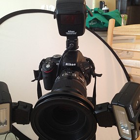Need help syncing up stobe w/ Nikon 5100 and R1C1 kit