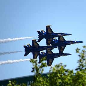 SX50 and The Blue Angels