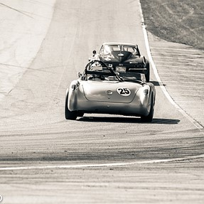 C&C vintage motorsports - split toning and panning.