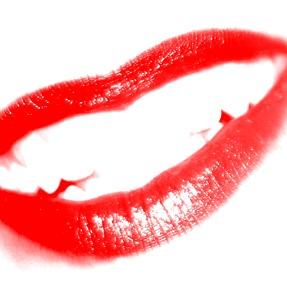 a girl's lips