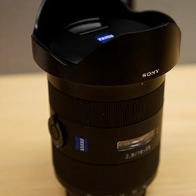 Sony SAL1635Z 16-35mm F2.8 SSM Zeiss A-Mount Wide Angle Lens