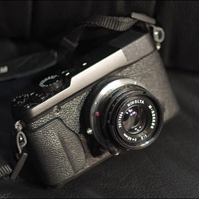 Minolta Rokkor 40/2 is an amazing lens