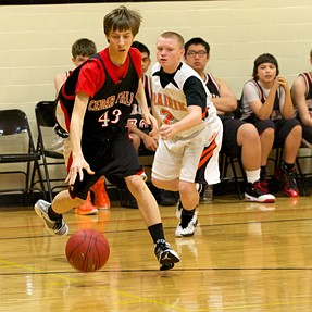 Jr. High Hoops with the D810
