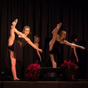 Practice run with EM1 and 40-150 f2.8 Pro at Dance Recital. C&C please