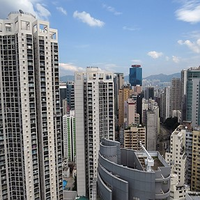 Attn. Larry >> idiosyncrasies request fulfilled HONG KONG rooftop patio