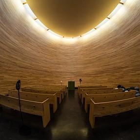 Round church interiors with SammyFish + EM10
