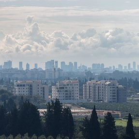 Landscape of Israel from the height