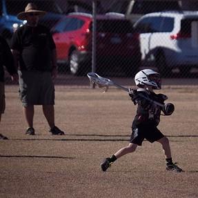 Weekend U11 Lacrosse in the East Valley Mesa Arizona