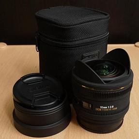 Sigma 10mm F2.8 EX DC HSM Fisheye - Sony/Minolta Mount