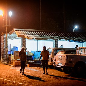 The night catch in Betim