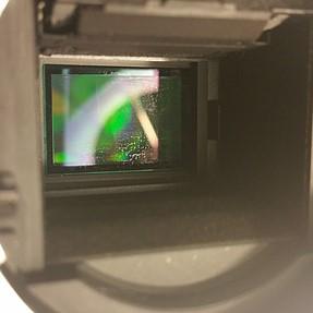 Cleaning sensor leaves streaks/film