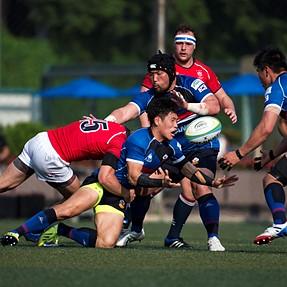 Asian Rugby Championship 2015 - Hong Kong 26:33 Korea