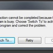 Server Bush error messages after installing LR6