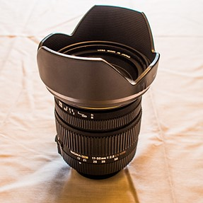 Sigma EX 17-50 mm f/2.8 HSM DC OS Lens for Pentax with Sigma DG UV filter